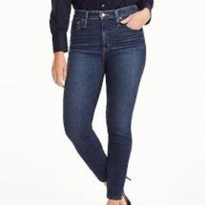 J. Crew Matchstick Mid Rise Skinny Jeans